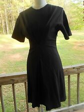 MARC BY MARC JACOBS Black Crewneck Gathered Waist Dress Size XS TP X Small