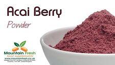 Acai Berry En Polvo-Antioxidante Natural Fuente 25g Entrega UK LIBRE