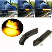 Dynamic LED Turn Signal Light Mirror Indicator For VW Golf 5 Jetta MK5 Passat UK