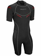 Tropical Diving Wetsuit for Men w/ Flat-Lock Stitched Seams & Back Zipper (L)