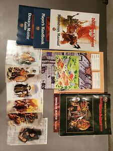 Introduction to Advanced Dungeons & Dragons Box Set w/ CD 1134 TSR INCOMPLETE
