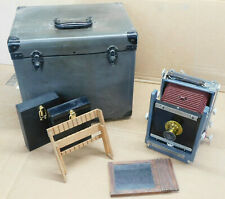 Wet Plate Collodion 4x5 Burke and James Large Format Camera Wood and Brass Kit