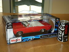 1965 Pontiac Gto, Hurst Edition, Maisto Diecast Metal Body - Car Toy, Scale 1/18
