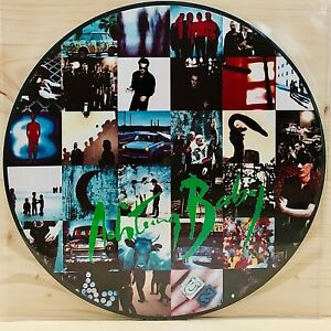 """U2 Acthung Baby - 12"""" Picture Disc LP Unofficial Release - Bellissimo!"""
