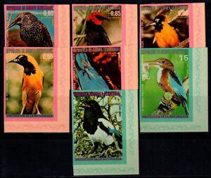 Equatorial Guinea 1976 Mi. A1009-A1013 MNH 100% birds
