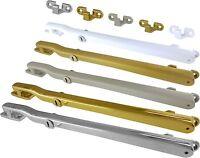 "Casement Window Stay Arm Modern Locking Fastener 10"" 254mm Non Rattle UK Quality"