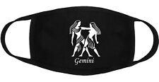 Zodiac Gemini - Face Mask Adult Youth Fashion 2 Layers Cotton Made in US