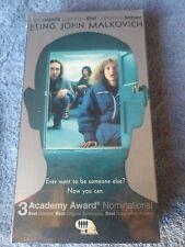 Being John Malkovich John Cusack, New i box, 2000 Vhs Factory sealed