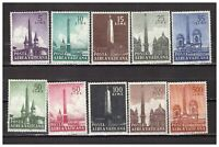 S27848) Vatican MNH 1959 Obelisks 10v Am