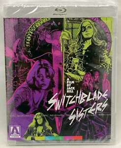The Switchblade Sisters Blu-Ray, Arrow Video USA, SEALED