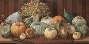 Farmhouse Style Print Tuscany Harvest by Janet Kruskamp Pumpkins and Gourds