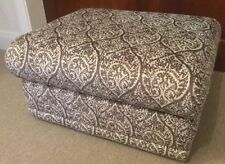 G Plan GPlan Malvern storage footstool damask ash fabric