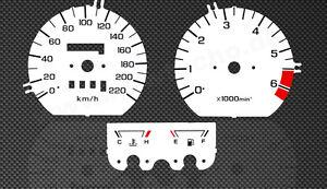 Honda Goldwing GL1500 SC22 Speedo Tachoscheiben Tacho Gauge Dial disk faces