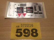 598 Robocop ED-209 ED 209 - Vintage Decal Unused