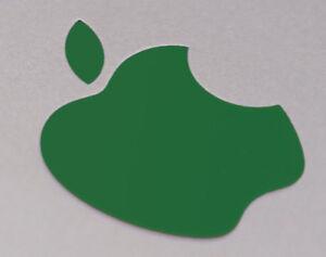 Hunter Green Color Changer Logo Overlay for Macbook