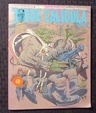 1982 Chronicles of JUDGE Dredd CALIGULA Book 2 FVF 1st Titan Brian Bolland