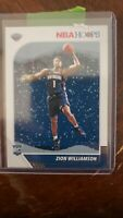 2019-20 Panini Hoops Basketball Zion Williamson RC Holiday Snow Winter Pelicans