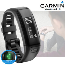 Garmin Vivosmart HR Fitness Activity Tracker Integrated HRM – Blk - Regular (A)