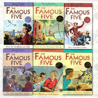 Famous Five Collection 6 Books Set (16 To 21) Five Get Into a Fix By Enid Blyton