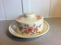 """A Royal Worcester Company """"Palissy"""" Casual Tableware Butter Plate And Lid"""