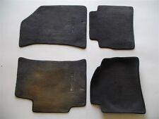 1998 1999 2000 HYUNDAI ELANTRA BLACK CARPET FLOOR MATS RUGS OEM SET 98 99 00