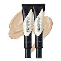 [The Saem] Cover Perfection Liquid Concealer 15ml - Korea Cosmetic