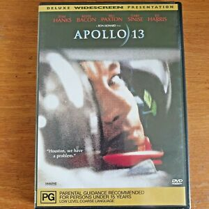 Apollo 13 WIDESCREEN DVD Tom Hanks Kevin Bacon R4 LIKE NEW  FREE POST