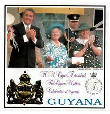 Guyana - 1999 - Queen Mother 100th Birthday - Souvenir Sheet - MNH
