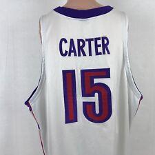 Nike NBA Authentic Vince Carter Toronto Raptors Dri Fit Jersey SZ 60 4XL Sewn