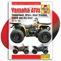1999-2004 Yamaha YFM250 Bear Tracker Haynes Repair Manual 2126 Shop Service