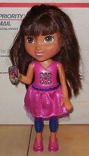 2013 Mattel Teenage Talking Dora Doll with Cell Phone Guc Nickelodeon