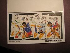 Belize Stamp Scott# 899-904 Summer Olympics, Seoul 1988 MNH L48