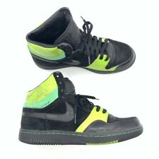Nike Mens Court Force Hi Basketball Shoes Black Green High Top 313385 003 10.5