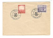 Deutsches Reich cover 1941 Wiener Messe