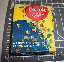 Vintage TWINK lux brand wash & dye full great graphics & color, CORAL color