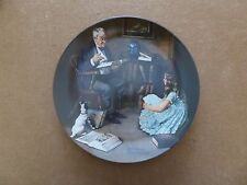 """Knowles Norman Rockwell Plate """"The Storyteller"""""""