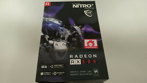 AMD Sapphire Nitro+ Radeon RX580 8GB GPU *BOX ONLY NO GPU*