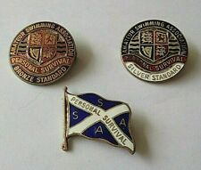 Personal Survival & Other Swimming Enamel Lapel Badges