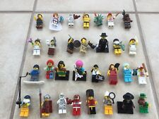lego minifigures Series Lot Of 30 various opened some rare