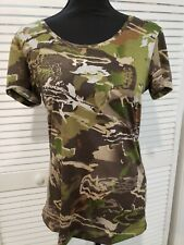 Under Armour UA Threadborne Women's Early Season Hunting M zs Shirt MSRP $40 NEW