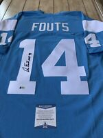 Dan Fouts Autographed/Signed Jersey COA San Diego Chargers Los Angeles LA