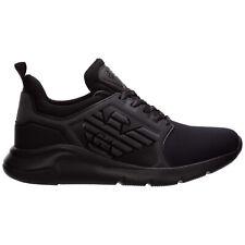 Emporio Armani EA7 sneakers men X8X057XCC55M620 Black logo detail shoes