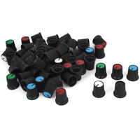 10PCS AG3 15X17mm Face Plastic For Rotary Taper Potentiometer Hole 6mm Knob SP