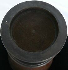 ANTIQUE 1800'S LATHE TURNED WOODEN PHARMACY APOTHECARY BURL WOOD MORTAR PESTLE