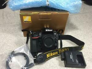 Nikon D810 DSLR Camera Shutter Count only '482' barely used from Japan Near MINT