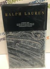 RALPH LAUREN ONE STANDARD SHAM 20X26 IN ALLISTER BLUE BRAND NEW! $115.00
