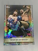 2020 Topps WWE Road To Wrestlemania Foilboard #91 The Bar Def Kofi Kingston