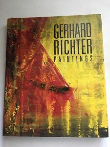 GERHARD RICHTER: PAINTINGS HARDCOVER 1988