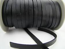 Lederband (ab 1,8€/m) Flach 10 x 2,5 mm. Lederriemen. Länge/Farbe: wählbar