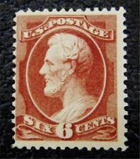 nystamps US Stamp # 208a Mint OG H $525